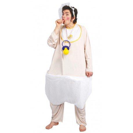 Baby Kostüm Babykostüm Riesenbaby Riese Erwachsene Windel Herrenkostüm Herren, Größe:Einheitsgröße, - Riesen Ballon Kostüm