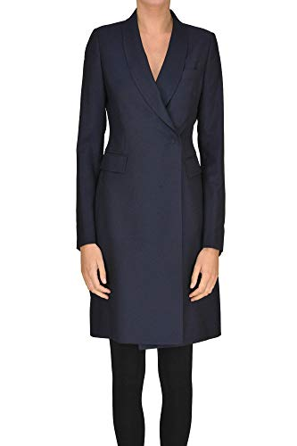 Tagliatore &Isabel C& Double-Breasted Coat Woman Navy Blue 38 IT -