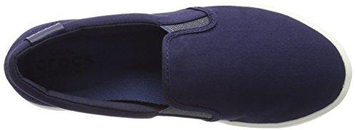 crocsCitiLane Slip-on Sneaker - Scarpe da Ginnastica Basse Donna Blu (Navy)