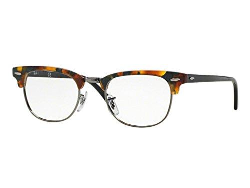 Ray-Ban Unisex-Erwachsene RX5154 Brillengestell, Schwarz (Green Havana), 50.0