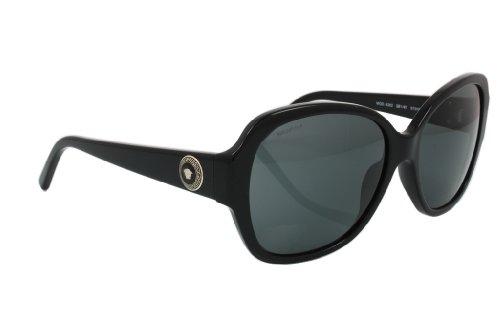 95919b5f11c Versace 0VE4252 GB1 87 57 Montures de lunettes Noir (Black Gray)