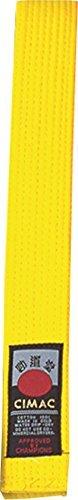 Cimac Ceinture d'arts martiaux Jaune jaune 280cm