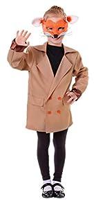 Bristol Novelty Fox chaqueta, grande