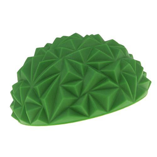 T TOOYFUL Premium Igelball Noppenball Massageball mit Noppen für Muskelmassage - Grün
