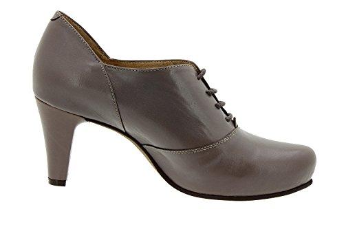 Chaussure femme confort en cuir semelle Piesanto 5234 lacet habillée comfortables amples Topo