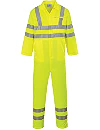 Portwest E042 - Hi-Vis P / C Mono, color Amarillo, talla 3 XL