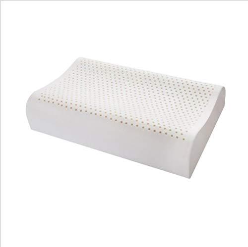 COOYT-ZT Almohada de látex, Almohada de Confort de diseño ortopédico bajo y Alto...