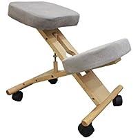 Ergonomische Pro11Wellbeing Verstellbare Kniend Korrigieren Haltung Stuhl beige