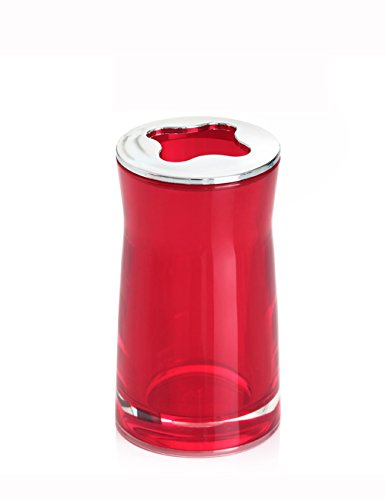 Acrylique Accessoires de salle de bain Porte-brosse à dents Brosse à dents Étagère Dentifrice Rack Toilettes Porte-brosse à dents Creative Hotel Accessoires de salle de bain ( couleur : 3 )