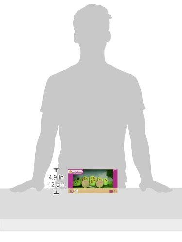 Eichhorn-100005550-Nachziehtier-Krokodil-Kleinkindspielzeug