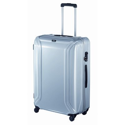 zero-halliburton-zero-air-ii-4-wheels-trolley-75-cm-silver-coloured
