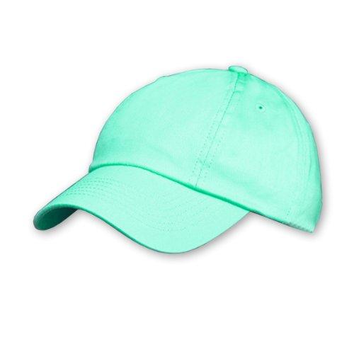 RESULT Unisex Kinder Baseball Kappe, einfarbig (One Size) (Jadegrün)