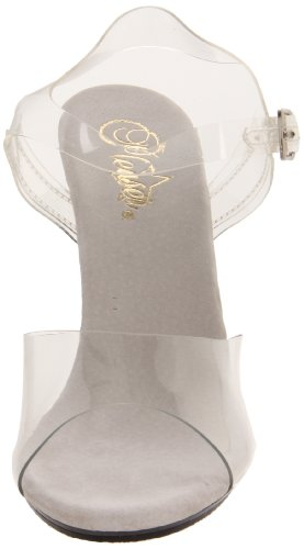 Pleaser  Car408/C/M, Escarpins Femme Transparent  (Clear)