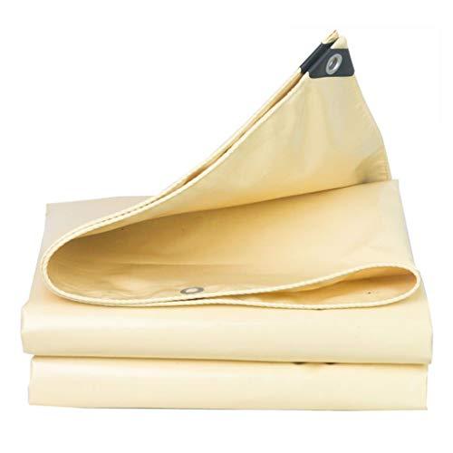 HU Wasserfeste Sonnencreme und reißfeste Plane. Einfach zu Falten für Bodenblech für Camping im Freien, 580 g/m², Dicke 0,5 mm (größe : 5x7m)