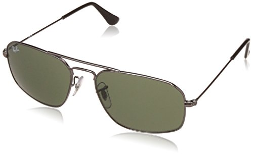 Ray-Ban UV Protected Square Men's Sunglasses - (0RB3382I00455 55 Crystal Green Color)