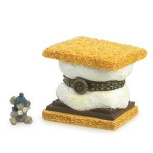 Boyd Bear Toasty's Smore with Graham Mcnibble Treasure Box 2013 by Boyd's (Smores-box)
