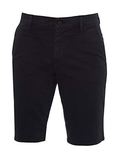 BOSS Bermuda Schino-Slim Shorts aus doppelt gefärbtem Stretch-Satin dunkelblau 404 (34) -