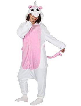 Très Chic Mailanda Pigiama Animale Cosplay Unicorno Tutina Costume Pigiamone e Camicie da Notte Donna per Carnevale...