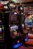 Alu-Dibond-Bild 70 x 110 cm: ' slot machine', Bild auf Alu-Dibond
