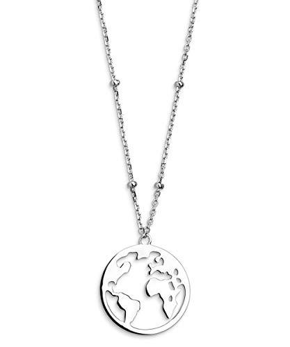 Xenox Silber-Halskette für Damen Wanderlust XS2985