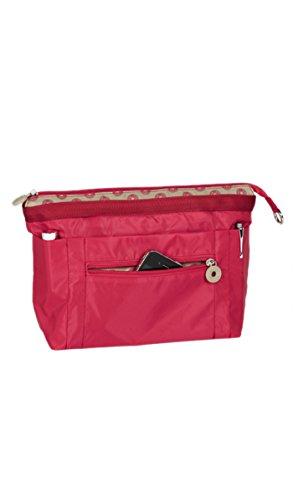 d9ffa37de6231 ... Damen Tote-Tasche Schwarz Schwarz Rot - Rot