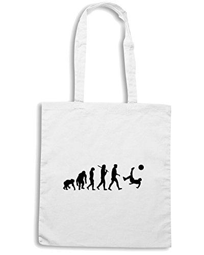 T-Shirtshock - Borsa Shopping OLDENG00249 soccer evolution Bianco