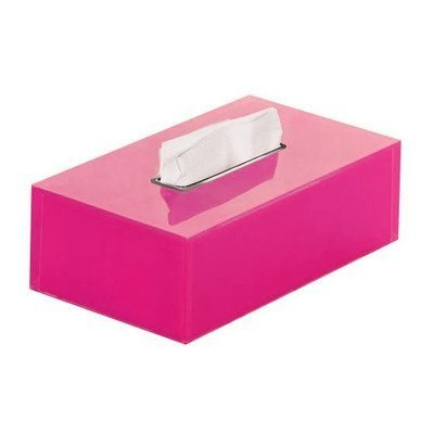 Rainbow Tissue Box Cover Color: Fuschia by Gedy by Nameeks -