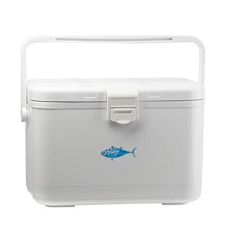 LXB Im Freien Kleine Tackle-Box zum Fliegenfischen, Abriebfeste Fußbefestigung, Kleiner Haken für Belüfter, hochdichtendes Oxygenierungsloch. (Iglu Mittagessen Kühler)