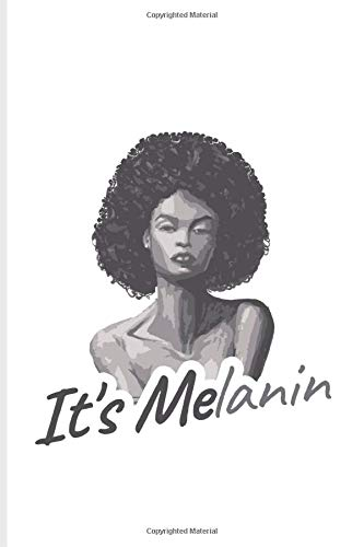 It's Melanin: I Like Me Quote Undated Planner | Weekly & Monthly No Year Pocket Calendar | Medium 6x9 Softcover | For Colored Skin & Melanine Fans