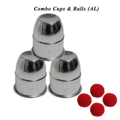 Combo Cups & Balls (AL) by Premium magic - Trick - Chop Cup Balls