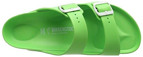 Birkenstock Unisex-Erwachsene Arizona Eva Pantoletten Grün (Neon Green)