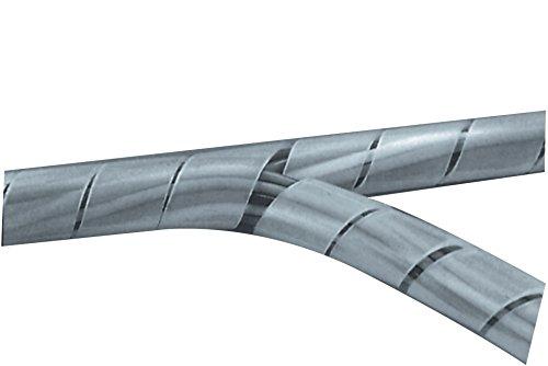 Eurosell - 100mm 10 Meter Profi Audio/Video / Strom Kabelkanal Kabel Tunnel Abdeckung Spiralschlauch Kabelschlauch Kabeltunnel