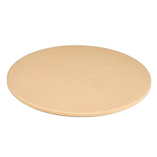 homdsim 32cm Runde Backform Pizza Stein, Stein für Ofen & Grill 12.6 Inch