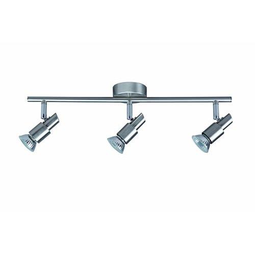 Classic-silber-3-licht (Spot-Light Deckenleuchte Classic Spot Schiene, 3-flammig, nickel matt SP-2991032)