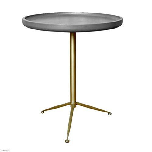 TX ZHAORUI Sofa Runden Tisch Wohnzimmer Kaffee Mini-Seite Tisch Ecke Tisch Kleine Couchtisch Sofa...