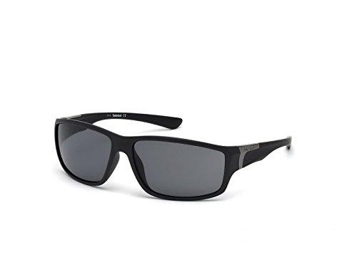 Timberland TB9068 C62 02D (matte black / smoke polarized) Sonnenbrillen