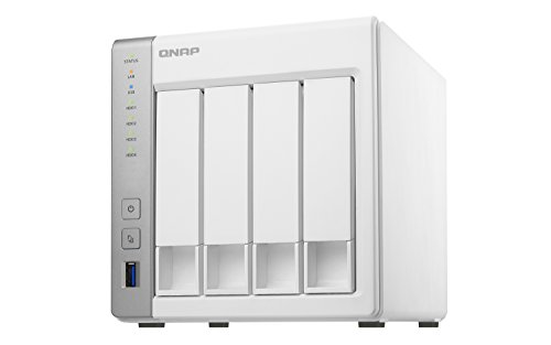 QNAP TS-431P Powerful 4-bay Network Attached Storage (NAS), 1GB RAM