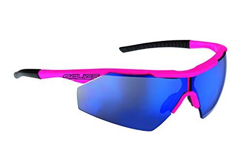 Salice 004RW Occhiali da Sole, Fucsia Fluo/RW Blu - Azione Occhiali Sportivi