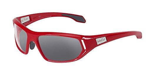 bollé Sonnenbrille Cervin, Shiny redb-Clear tns Gun, 11587