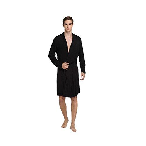 Men Bathrobe pajamas Swimsuit bath towel Nightgown Take a bath sauna Home Hotel cotton thin summer Bathroom supplies