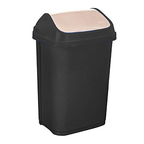 okt-2053703-swing-bin-poubelle-plastique-graphite-creme-10-l