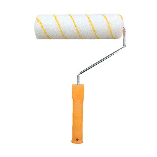 XIAPENGGelbe DIY Länger Latex Lack Keilroller Pinsel Pinsel Pinsel Pinsel Wand Kit 3 mt Dicke Aluminium Rod + Wolle Pinsel -