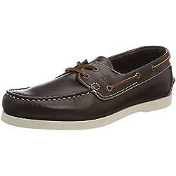 TBS Phenis, Chaussures Bateau Hommes, Marron (Ebene + Cuir A8H55), 43 EU