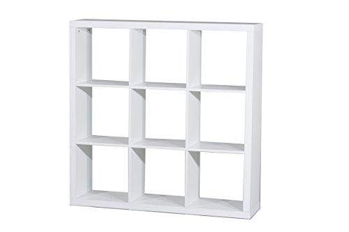 Kit Closet Kubox - Libreria, 9 vani, colore bianco