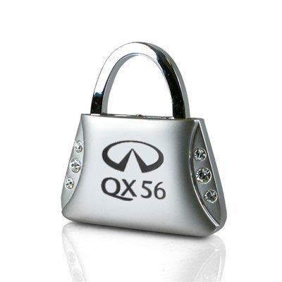infiniti-qx56-clear-crystals-purse-shape-key-chain