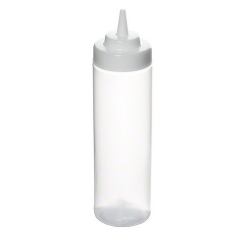 Tablecraft (32563C) 24 oz Wide Mouth Squeeze Bottle [Set of 12] by Tablecraft 24 Oz Wide Mouth