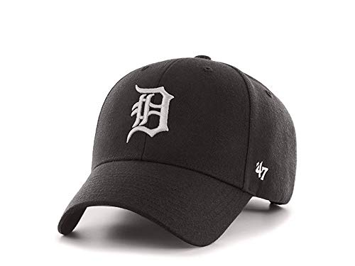47 MVP Snapback Cap - Detroit Tigers - MLB Herren Kappe Schwarz