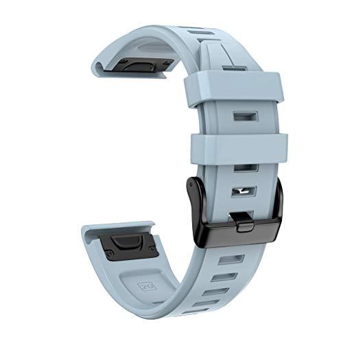 Cinnamou Cinturino per Orologio Sportivo Sostitutivo in Silicone per Garmin Fenix 5S / Fenix 5S Plus, Polso Applicabile 125-200mm