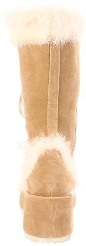 Demonia cubby-311 Camel Veggie Suede