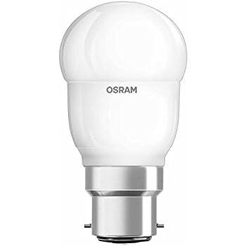 OSRAM LED SUPERSTAR Ampoule LED, Forme sphérique, Culot B22, Dimmable, 6W Equivalent 40W, 220-240V, dépolie, Blanc Chaud 2700K, Lot de 1 pièce